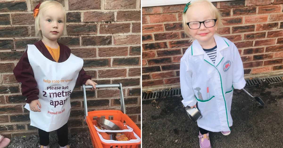 5 32.png?resize=1200,630 - Toddler Dresses Up As A Different Key Worker Every Week To Show Her Support For Them