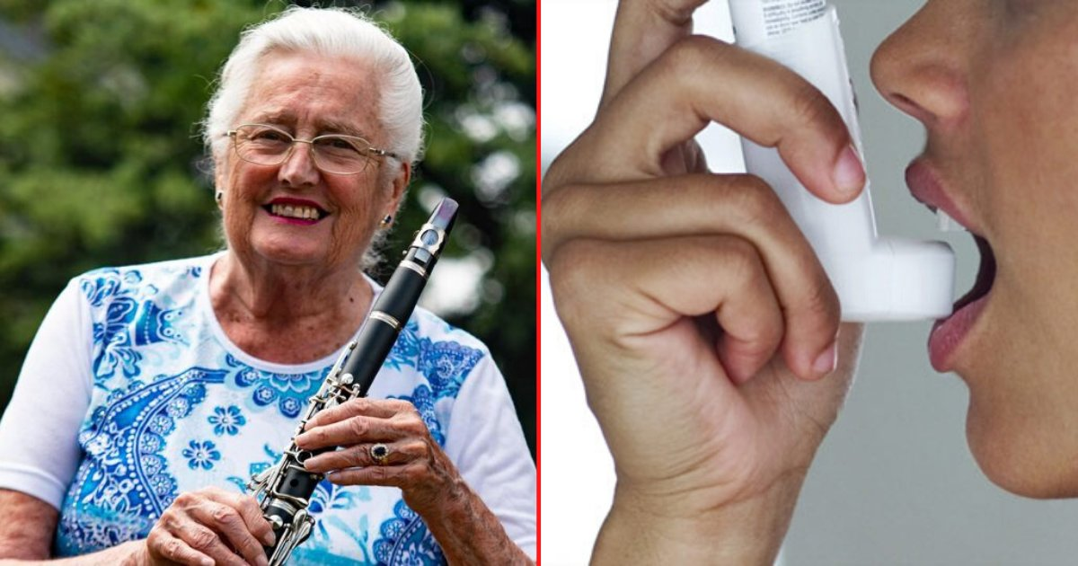 6 32.png?resize=412,275 - 78 Year Old Grandma Was Cured of Chronic Asthma After She Started Learning Clarinet