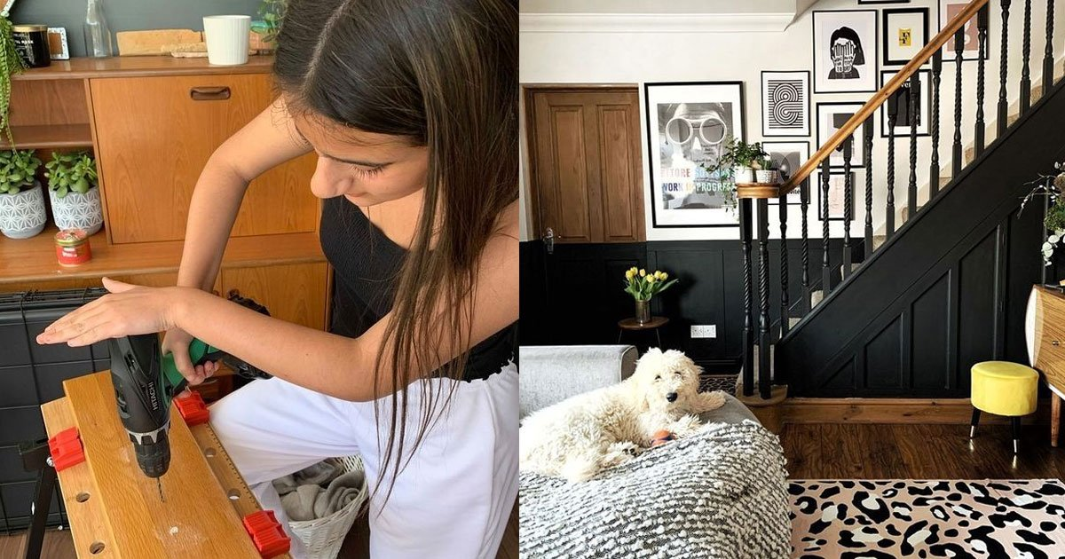 a 12 year old girl transformed her home in just a week amid homeschool lessons.jpg?resize=412,232 - A 12-Year-Old Girl Transformed Her Home In Just A Week For Just $60