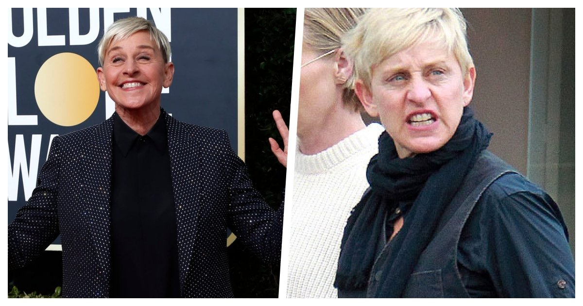 collage 18.jpg?resize=1200,630 - The Double Life of Ellen - Allegations That She Is Nothing Like Her On-Screen Persona Surface