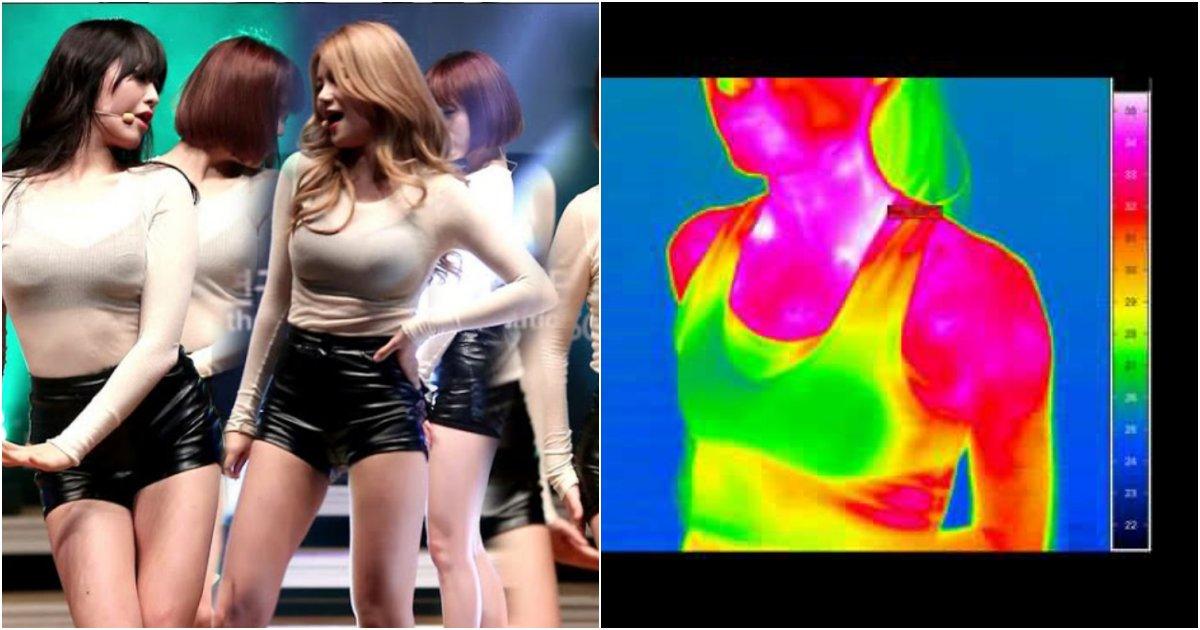 "collage 236.png?resize=412,232 - ""'뽕' 감지 카메라..?"" 걸그룹 AOA 멤버들의 '뜻밖의 정보'를 알려준 열감지 카메라 투시 결과"