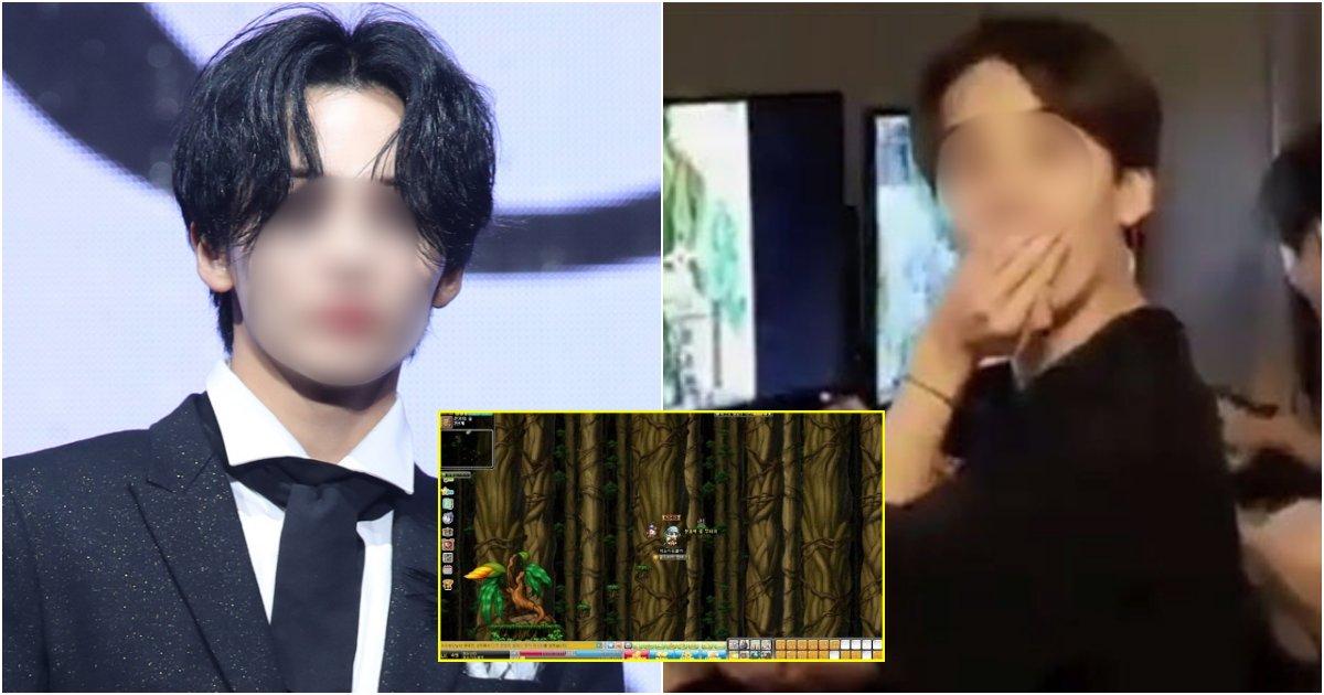 "collage 24.png?resize=1200,630 - 최근 V LIVE 방송 중 '메이플 스토리'하다가 ""ㅈ됐네""라며 욕설 논란 일으킨 유명 아이돌 멤버"
