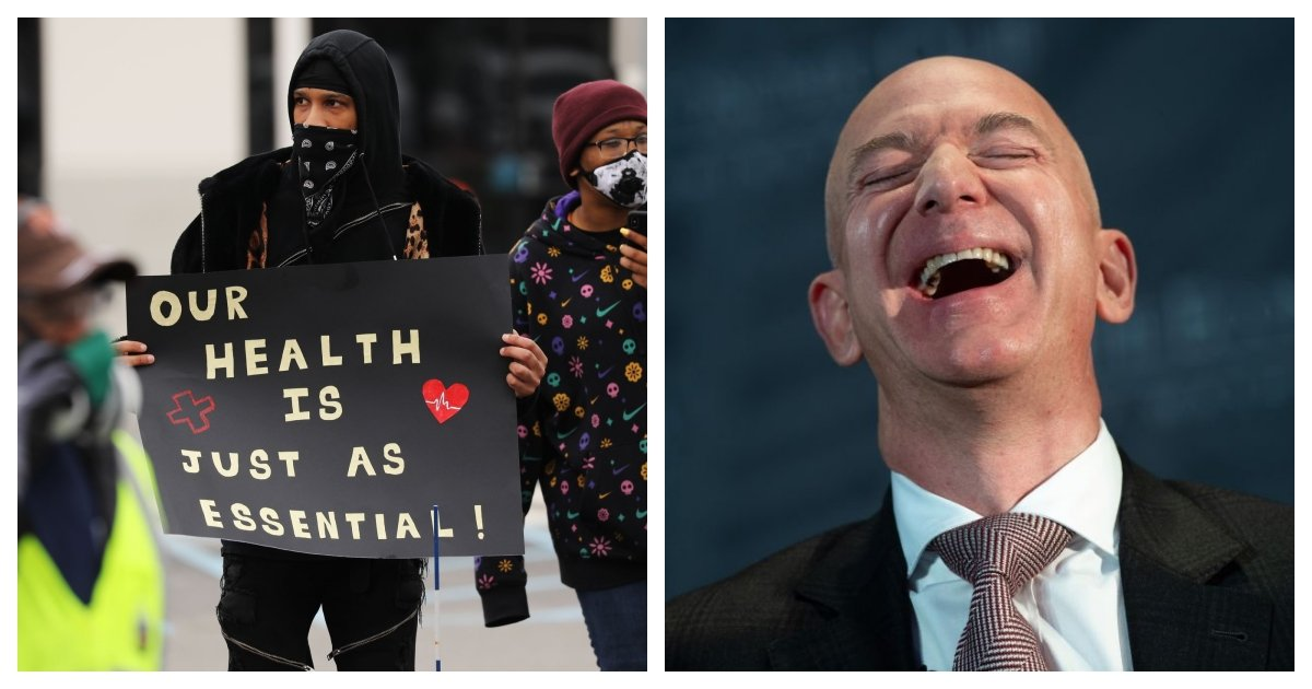 collage 30.jpg?resize=412,275 - Amazon Will Stop Paying Its Warehouse and Delivery Workers $2-An-Hour Hazard Pay