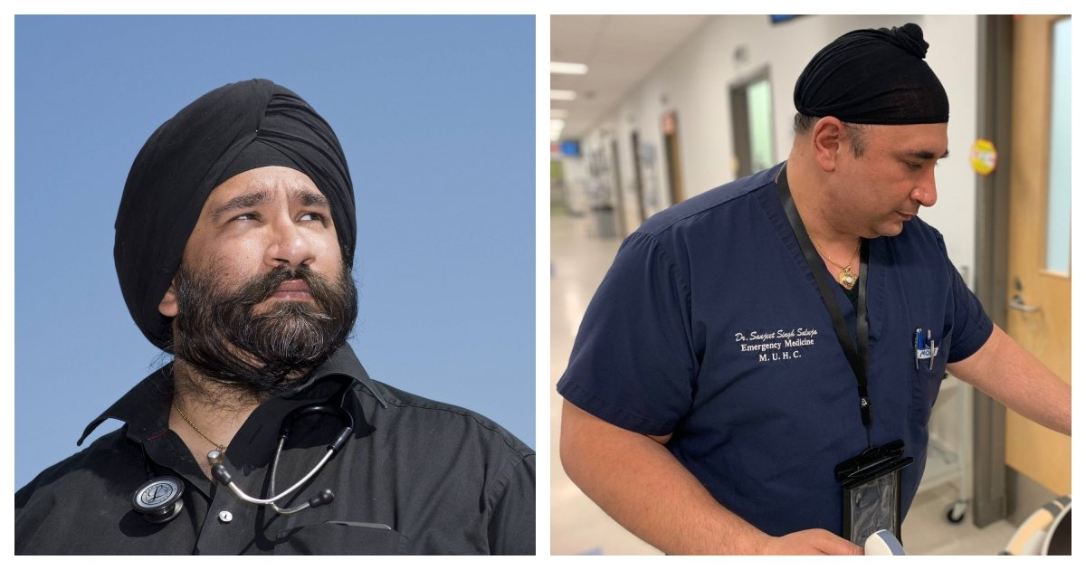 collage 35.jpg?resize=1200,630 - Sikh Doctors Shaved Their Beards So They Can Wear Medical Masks To Treat Patients