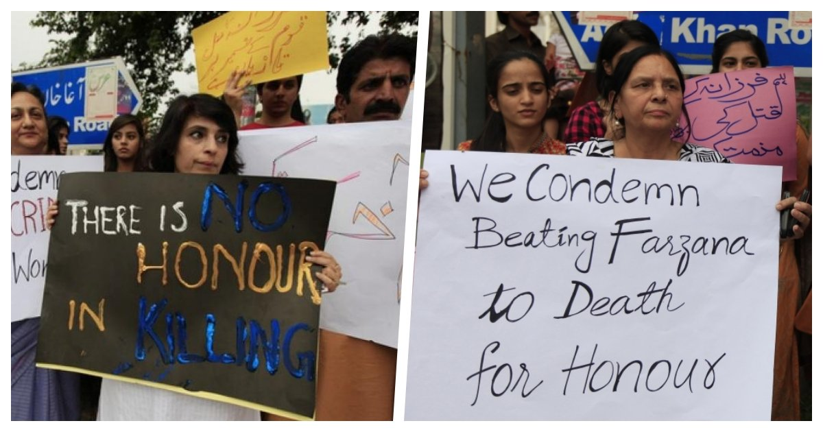 collage 40.jpg?resize=412,275 - Two Pakistani Teenage Girls Killed By Their Family Members In Another Case of 'Honor Killing'