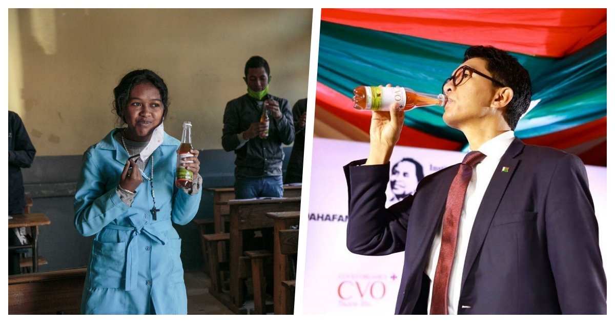 collage 41.jpg?resize=1200,630 - Madagascar Promotes A Herbal Tonic That Supposedly Cures Covid-19 Despite WHO Warnings