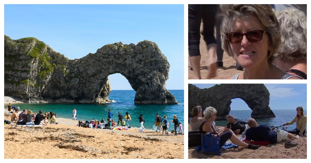 collage 44.jpg?resize=412,275 - Woman Who Drove 1.5 Hours to the Beach Accuses Other Beachgoers of Spreading Covid-19