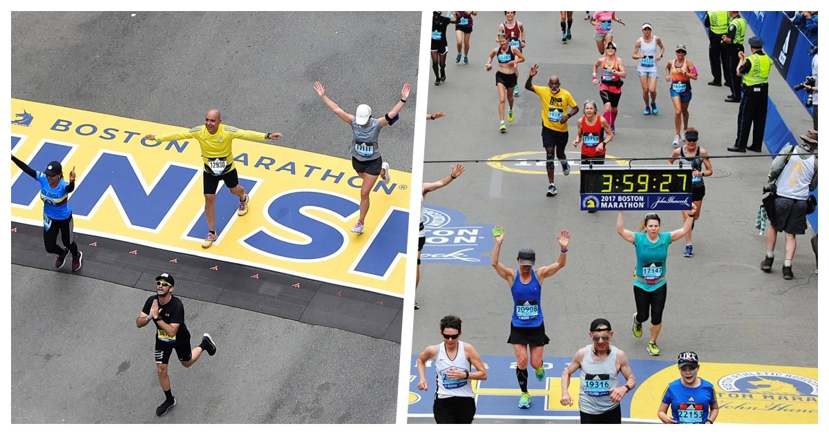 collage 76.jpg?resize=412,275 - The Boston Marathon Has Been Cancelled For The First Time in History - Event Will Be Held Virtually
