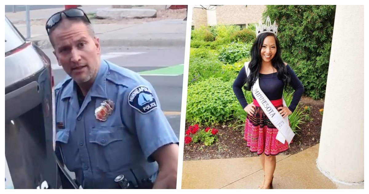 collage 79.jpg?resize=1200,630 - Accused Minneapolis Police Officer's Wife Files For Divorce On The Day He Is Arrested