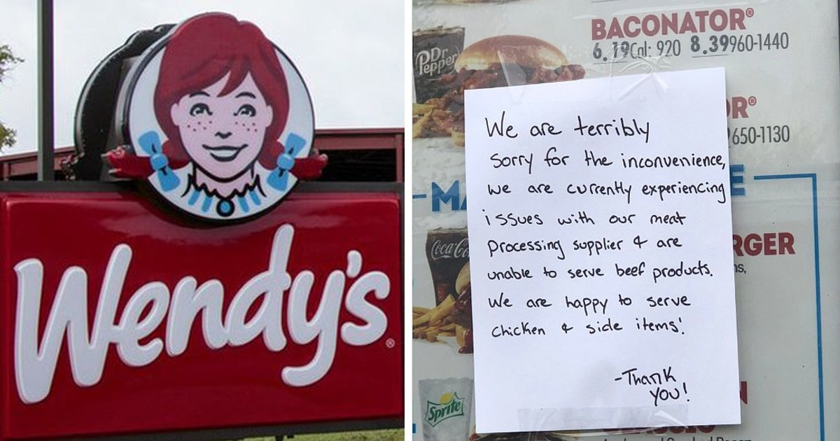 ggggggggss.jpg?resize=412,232 - Owing To Meat Shortages In US Wendy's Takes Burgers Off Their Menu At Various Locations