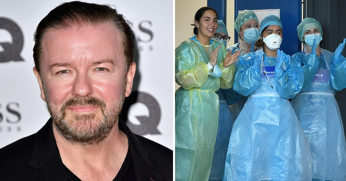 ggssssdf 1.jpg?resize=1200,630 - Outspoken Ricky Gervais Wants Celebrities Banned, Replaced With Front Line Workers on New Year's Honors List