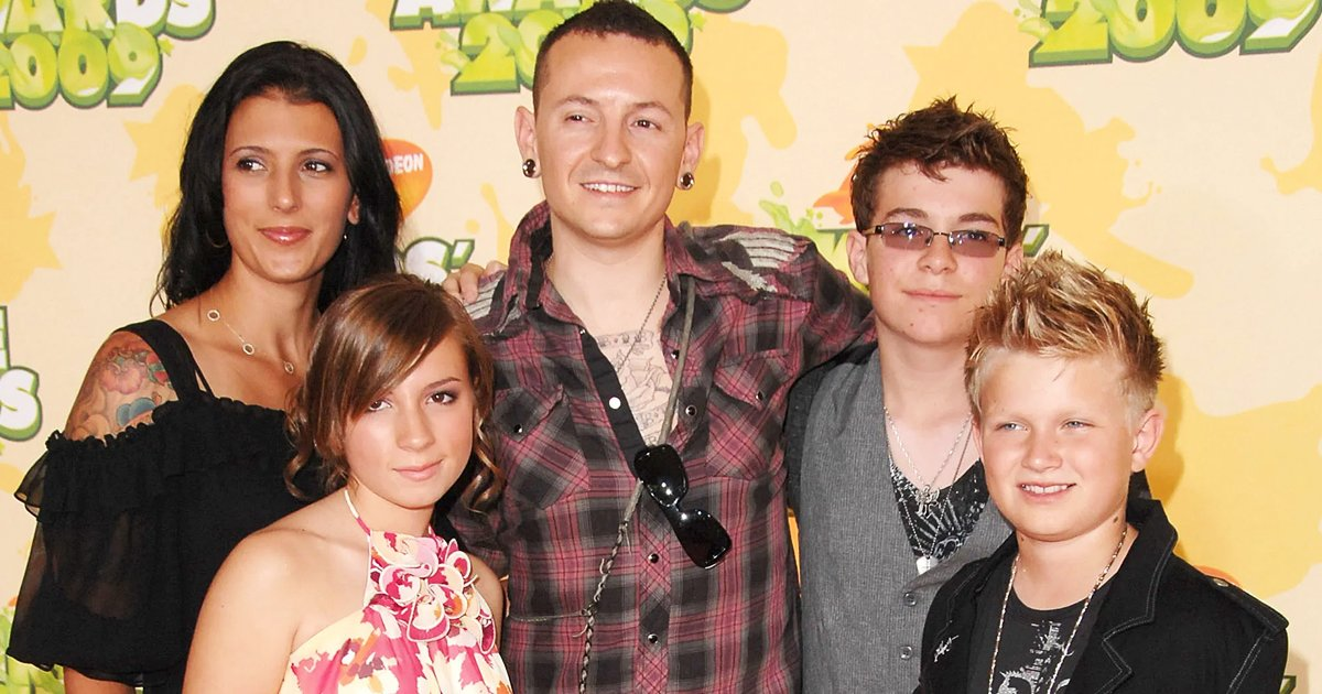 hahhaa.jpg?resize=1200,630 - Chester Bennington's Children Inherit Late Father's $8M Fortune