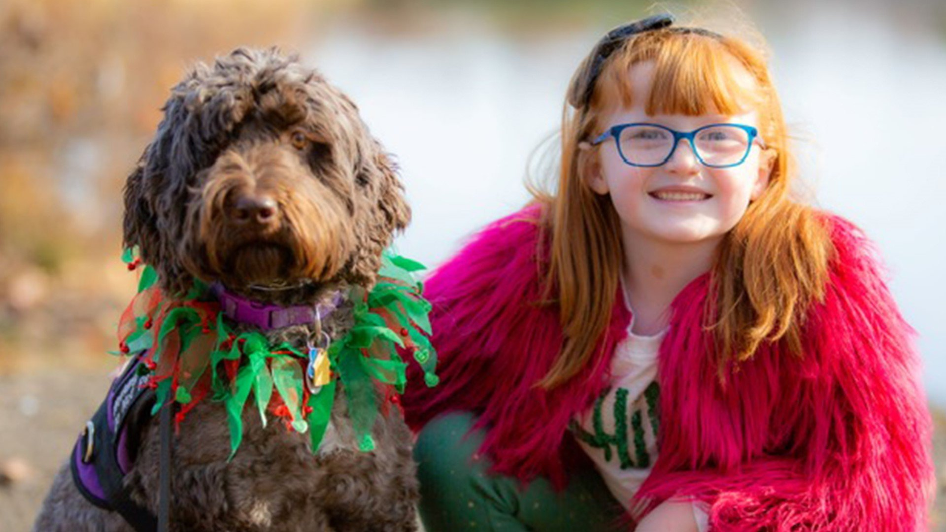 heather lange.jpg?resize=412,232 - Grade School Gave Service Dog Her Own Yearbook Photo To Surprise Little Girl