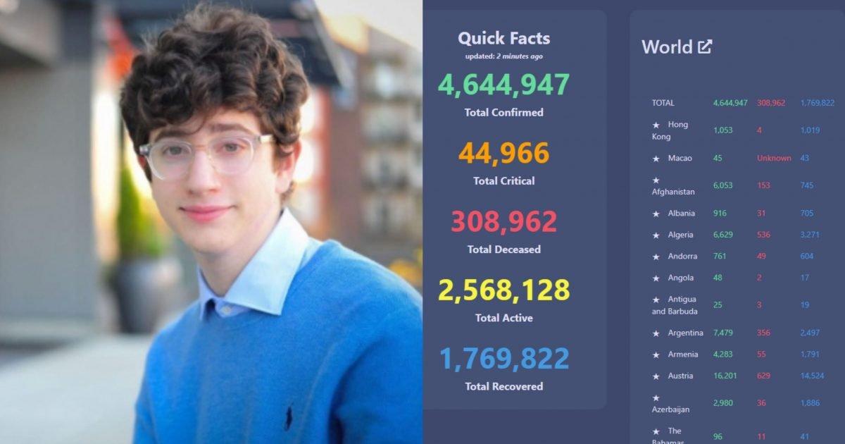 image from ios 40 e1589625609890.jpg?resize=412,275 - '코로나 추적 사이트' 개발로 인생 대박난 '고등학생'....100억짜리 '광고'를 '단칼에' 거절한 이유