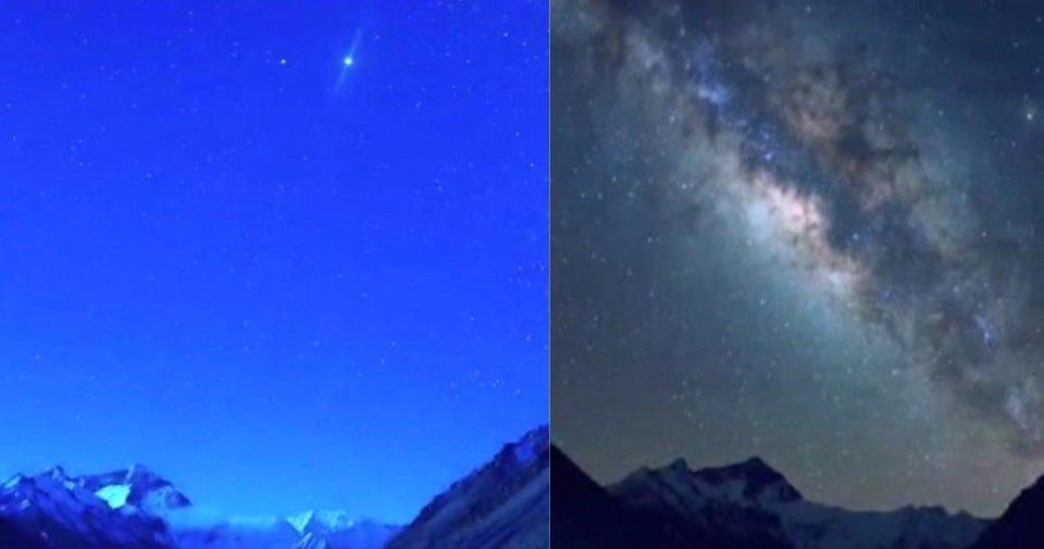 "kakaotalk 20200519 160152899.jpg?resize=412,275 - ""이렇게 아름다운걸 못 보고 있었다니""...코로나 덕분에 대기 깨끗해지자 '에베레스트 산'에 은하수 나타났다"
