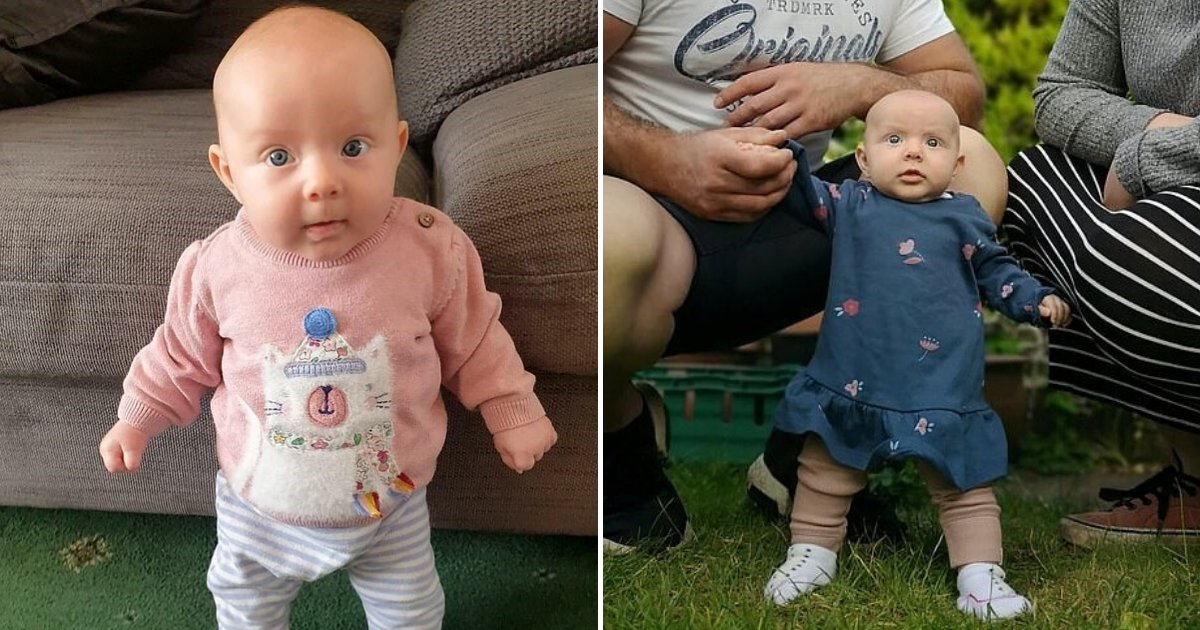 lula6.png?resize=412,275 - Super Baby! Proud Dad Shares How His Daughter Learned To Stand At Only Eight Weeks