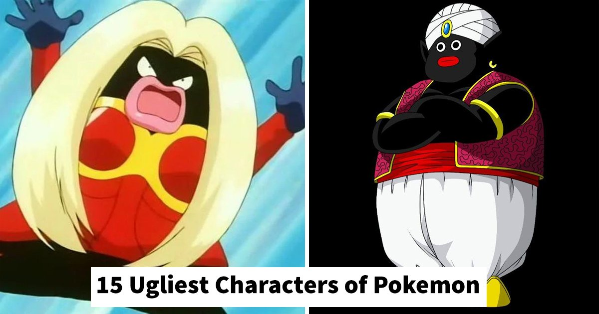 mokemon ugly characters.jpg?resize=1200,630 - Pokemon Ugly: Revealing 15 Of The Famed Game's Ugliest Characters