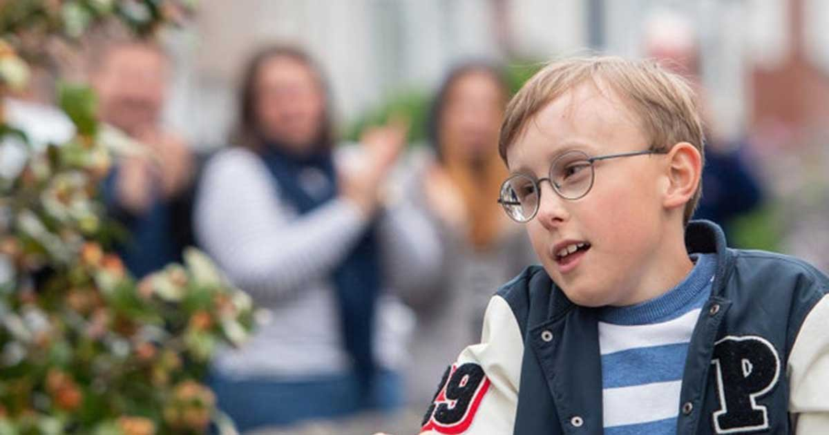 pawire1.jpg?resize=1200,630 - Boy With Cerebral Palsy Raises $46,000 For NHS Workers