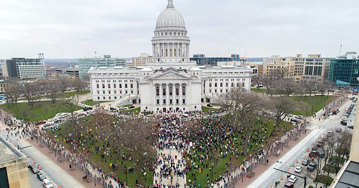 """reuters 8.jpg?resize=1200,630 - 72 People In Wisconsin Tested Positive For COVID-19 After Attending A """"Large Gathering"""""""