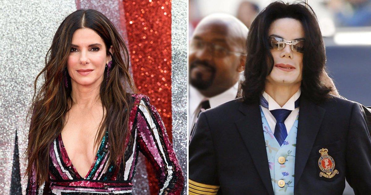 sanda bullock michael jackson.jpg?resize=412,232 - Sandra Bullock Totally Looks Like Michael Jackson And Here Is A Proof