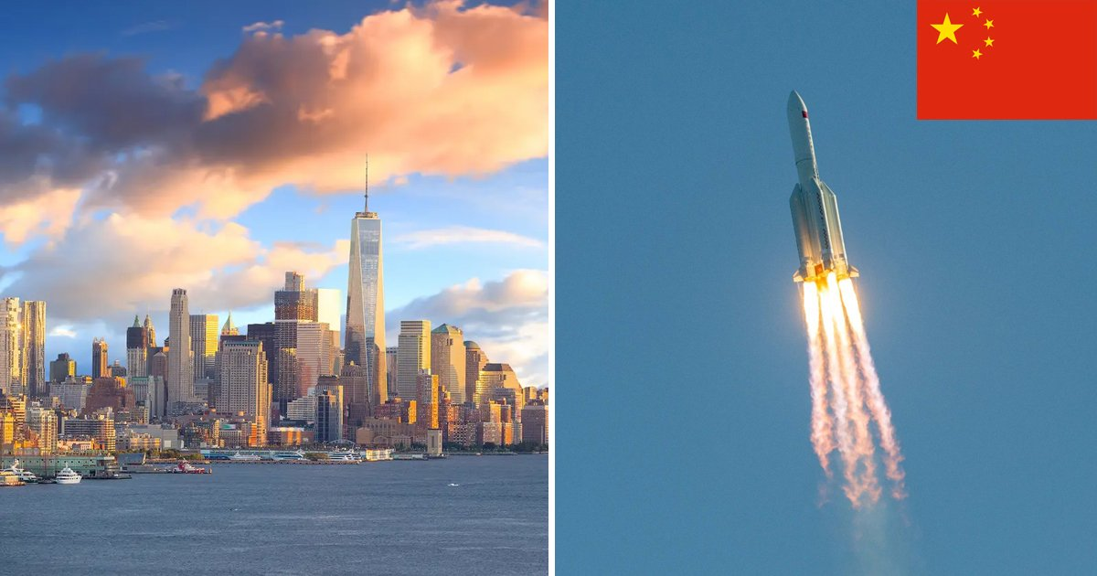 sfsdf.jpg?resize=1200,630 - Massive Chunk From China's Failed Rocket Luckily Missed Hitting New York City By Minutes