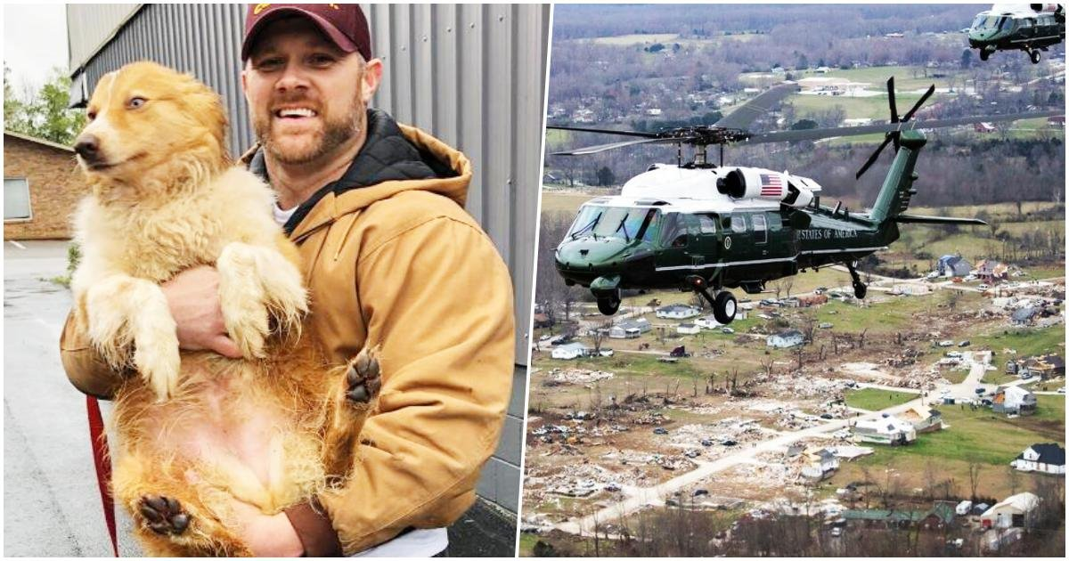 thumbnail 2.jpg?resize=1200,630 - This Family Gets Reunited With Dog Who Saved Them From An Incoming Tornado After Being Missing For 54 Days