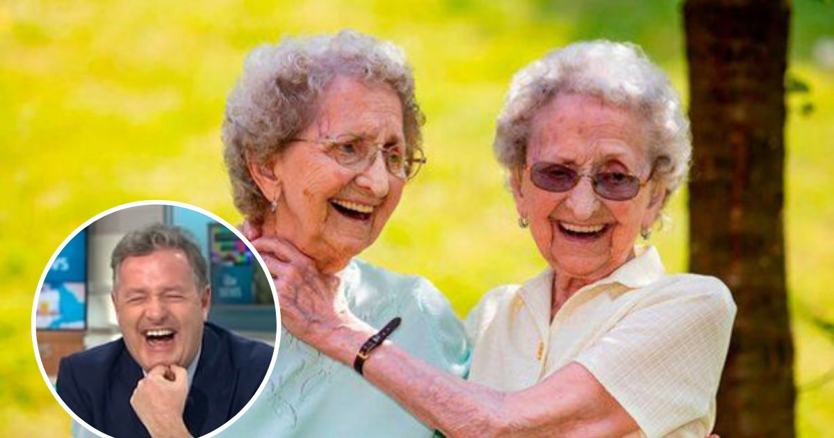 twins5 1.png?resize=1200,630 - Identical Twins Lilian And Doris, 95, Revealed Their 'Wild' Secret To A Long Life