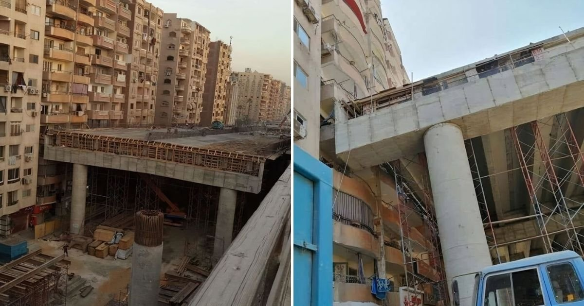 untitled design 2 5.jpg?resize=412,232 - Photos Show Highway Being Built Just Inches Away From Occupied Apartments