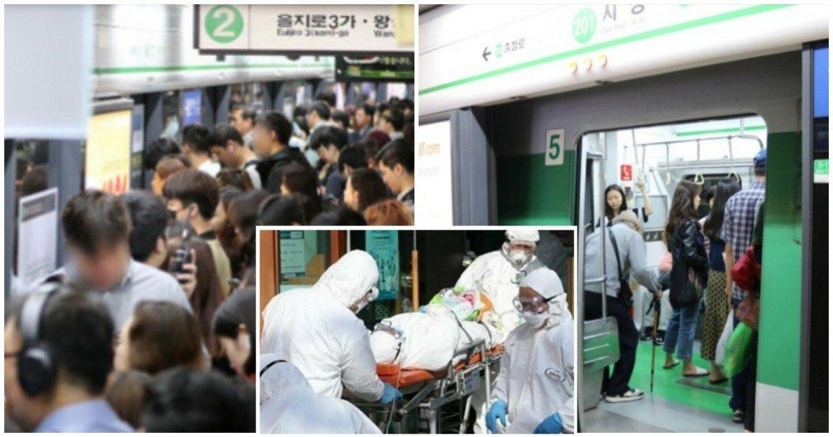 1 94.jpg?resize=412,232 - [속보] 서울 지하철 2호선 안전관리요원 3명 '코로나 19' 확진