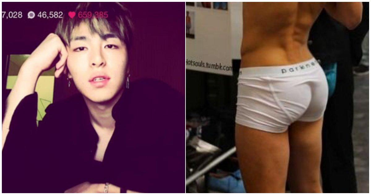 11 10.png?resize=412,275 - 라이브 방송 중 '엉덩이 노출'한 유명 YG 남돌...팬들, 속옷 노출 두고 의견 엇갈려