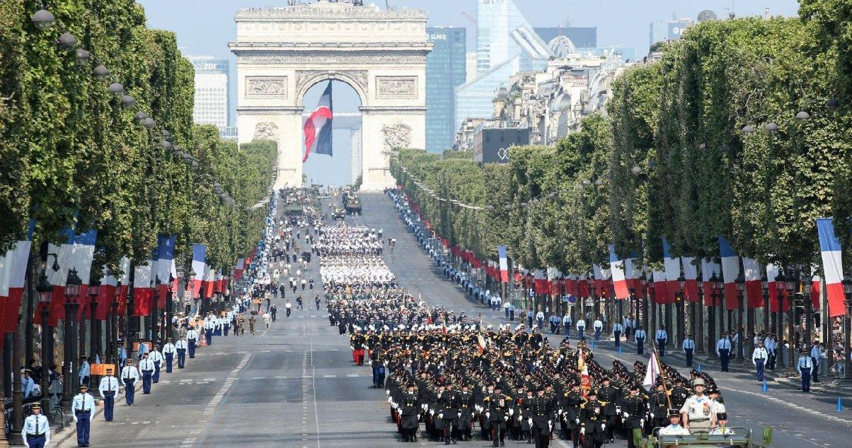 14juillet.jpeg?resize=412,232 - 14 juillet: le défilé militaire sera remplacé par une cérémonie d'hommage aux soignants