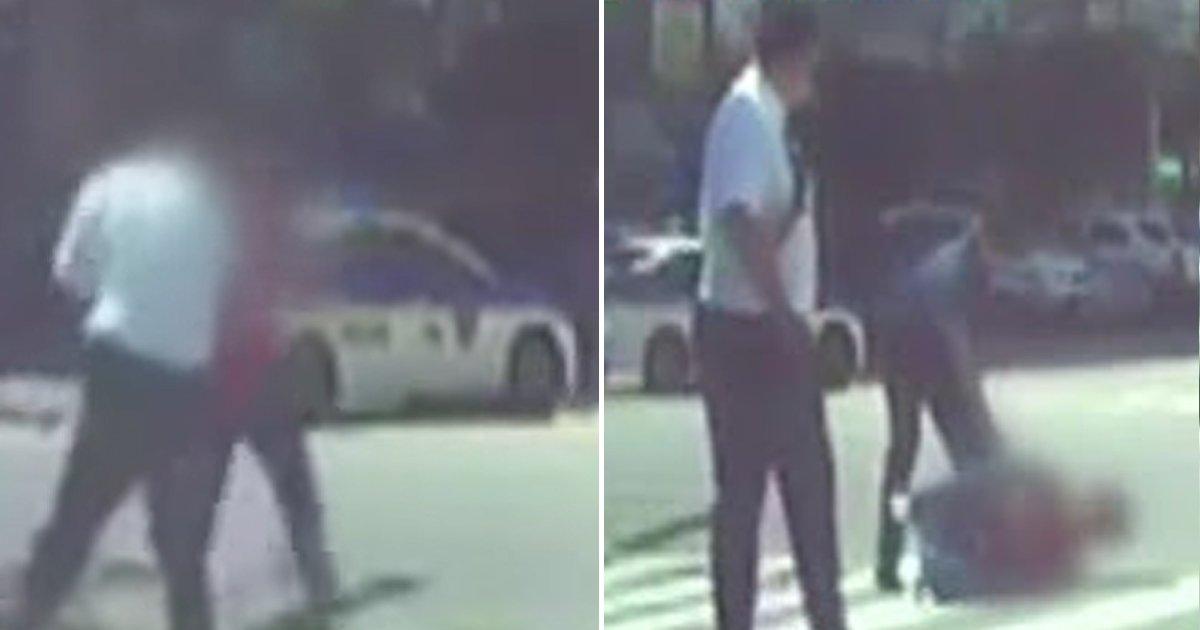 2 39.jpg?resize=412,232 - 경찰에 쫓기던 마약수배자, 한 시민이 '어깨빵'으로 단번에 제압.gif