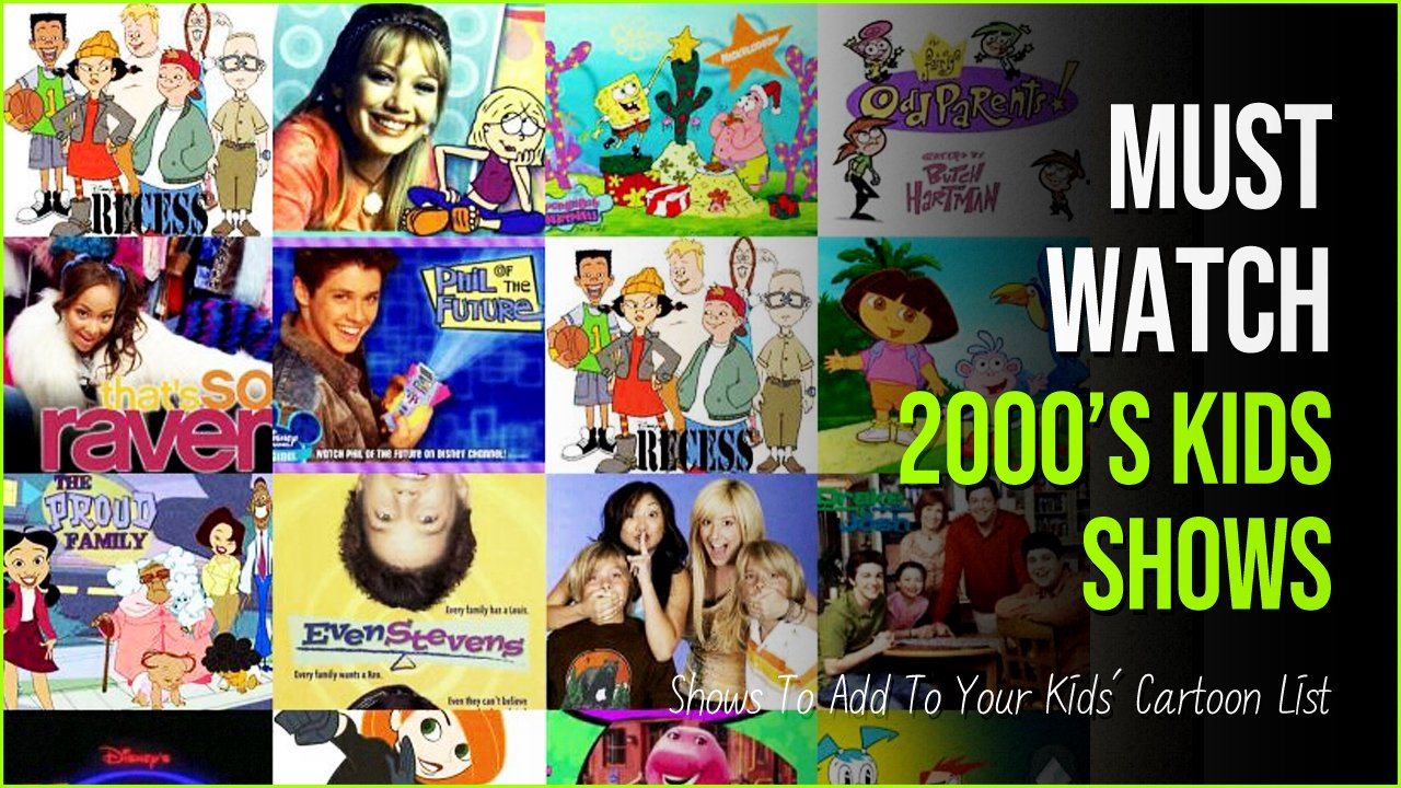 2000s kids shows.jpg?resize=1200,630 - 2000s Kids Shows You Can Still Add To Your Kids' Cartoon List