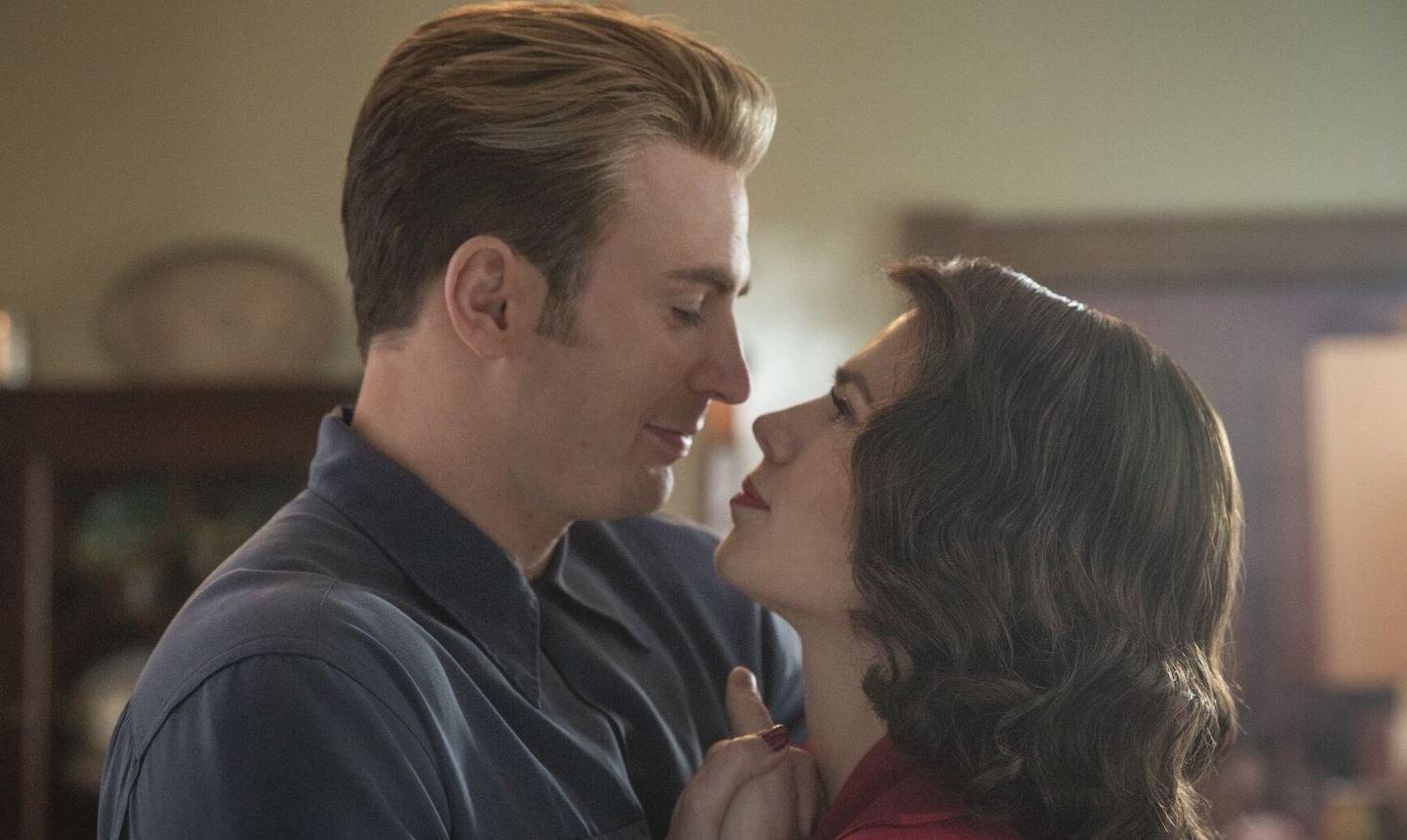 Chris Evans Peggy Carter Captain America