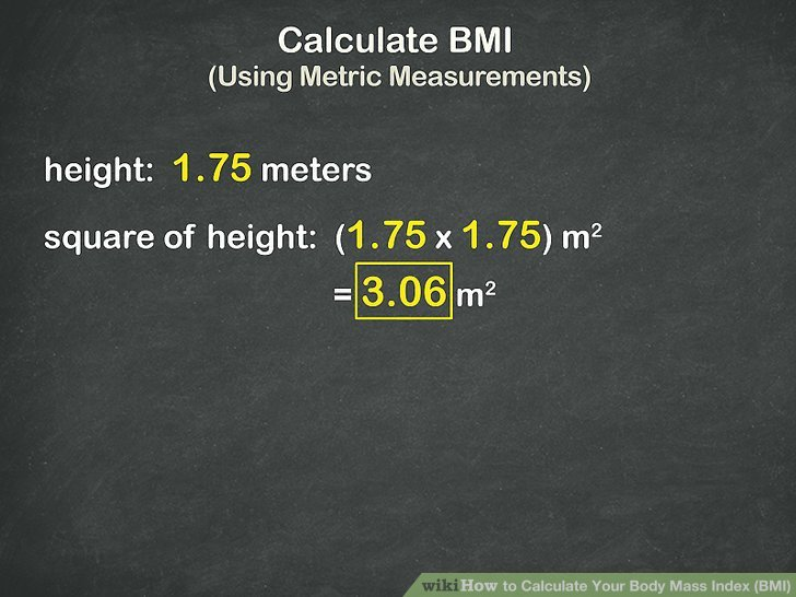 how to use BMI calculator