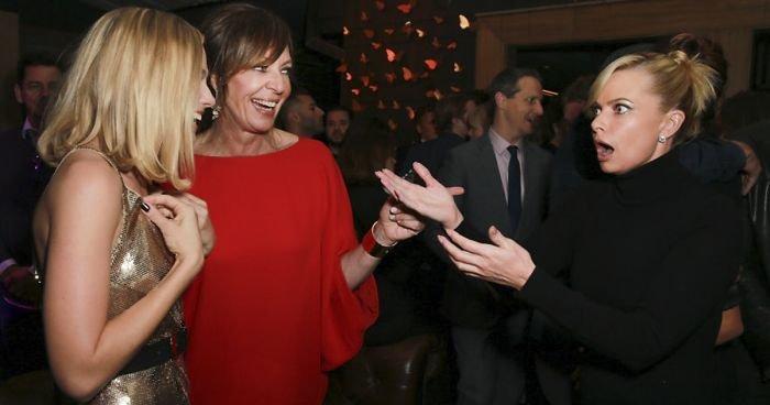 Margot Robbie And Jaime Pressly