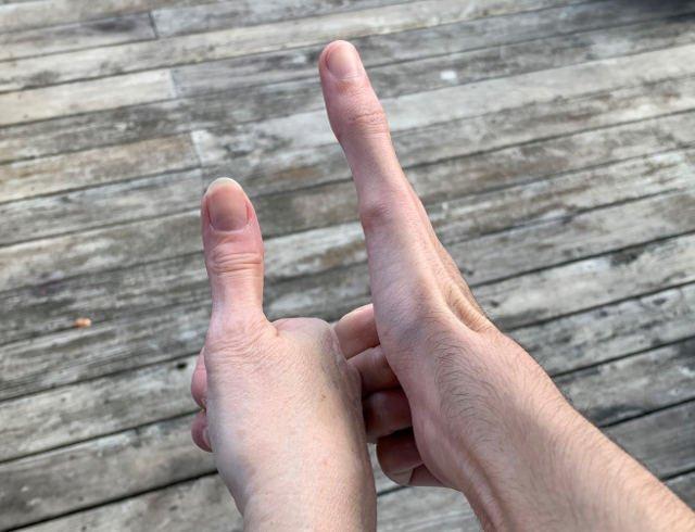 5 inch thumb