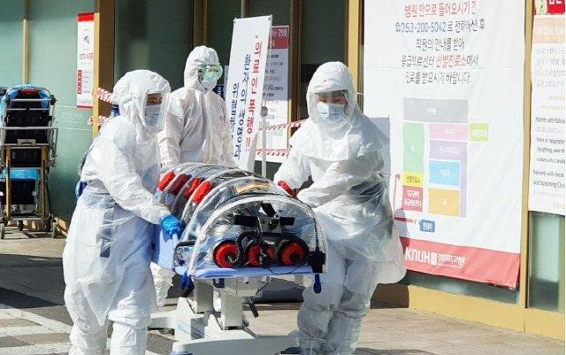 속보] 경북대병원 코로나19 94번 환자 16시 11분 사망...사망자 총 8명 ...