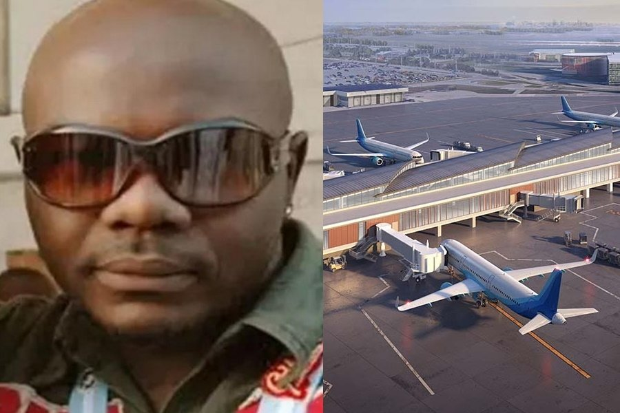 Nigerian Scammer sells fake airport