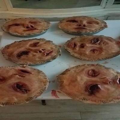 dead face pie