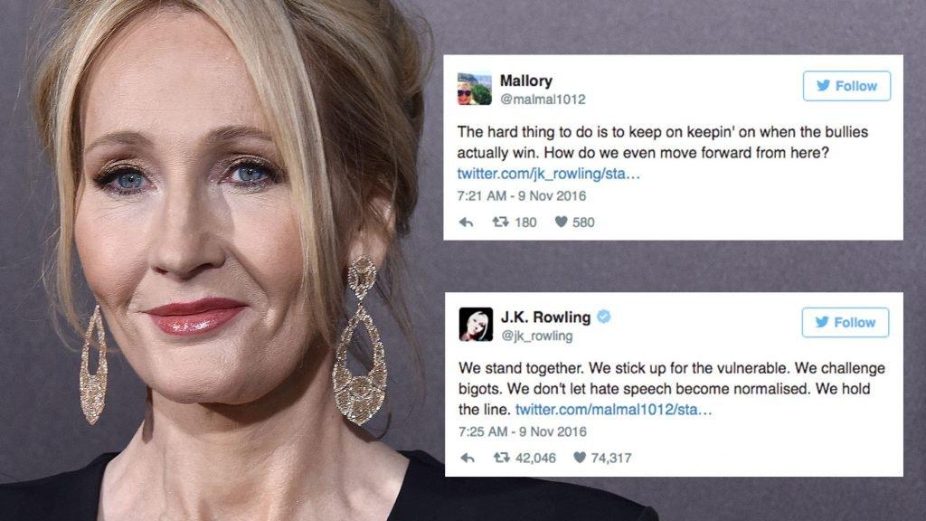 JK Rowling Tweets storm the internet