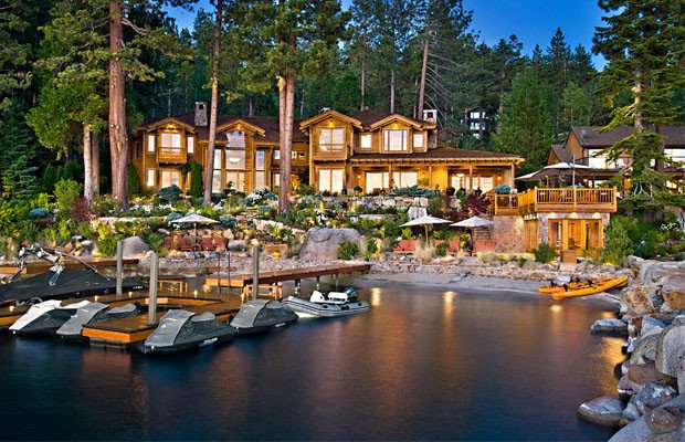 richest peoples houses