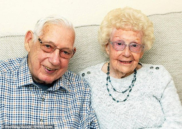 Ron, 94, and Pat Wood, 91, died of coronavirus just five days apart after spending their final days together holding hands in hospital