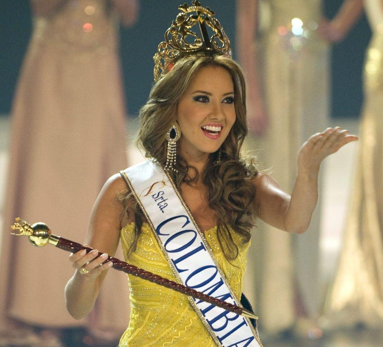 La ex Miss Colombia, Daniella Álvarez, concede su primera ...