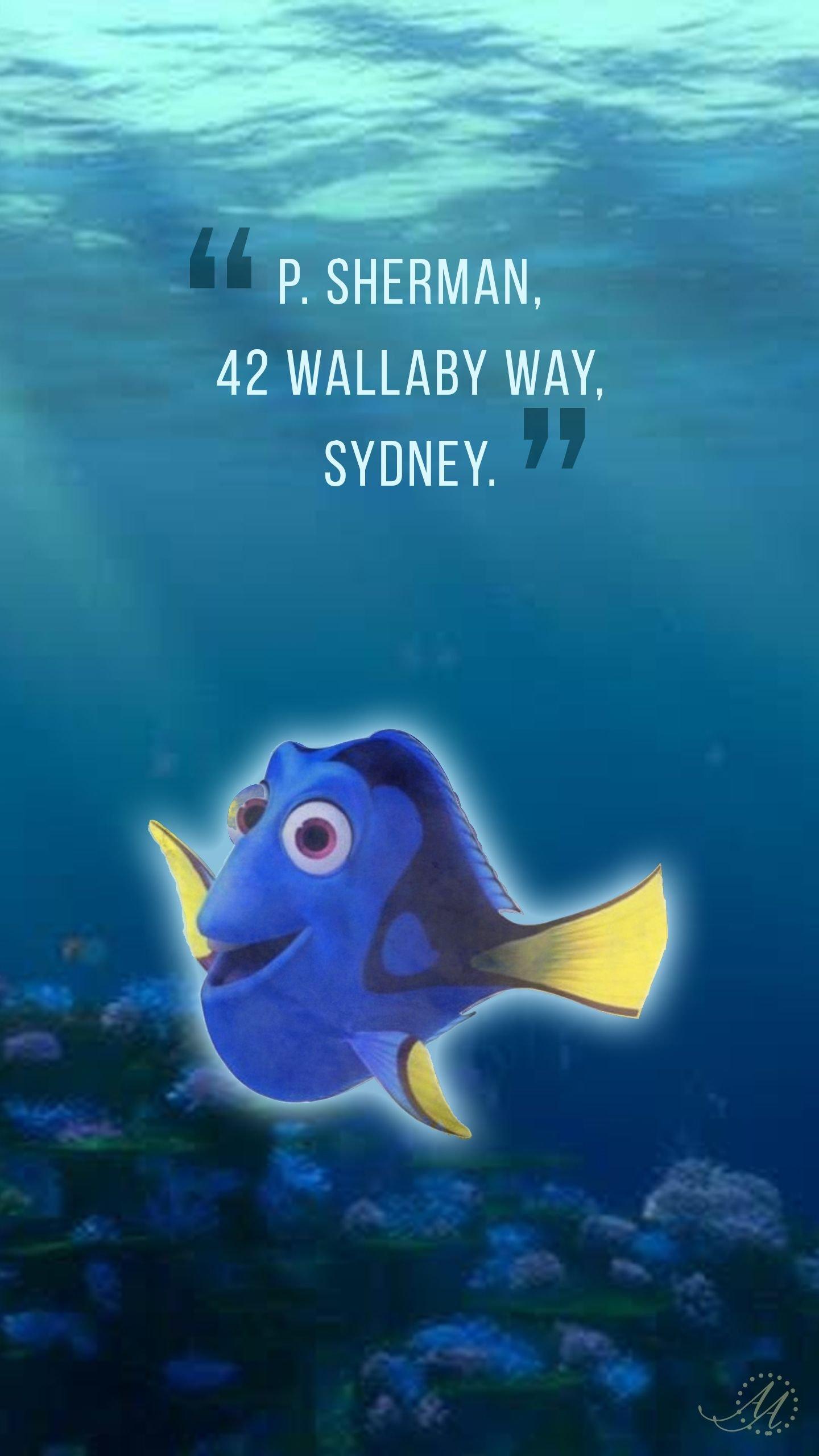 P. Sherman, 42 Wallaby Way, Sydney