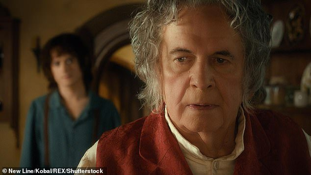 Sir Ian famously played Bilbo Baggins in the hit trilogy and revived the role for the later Hobbit film series