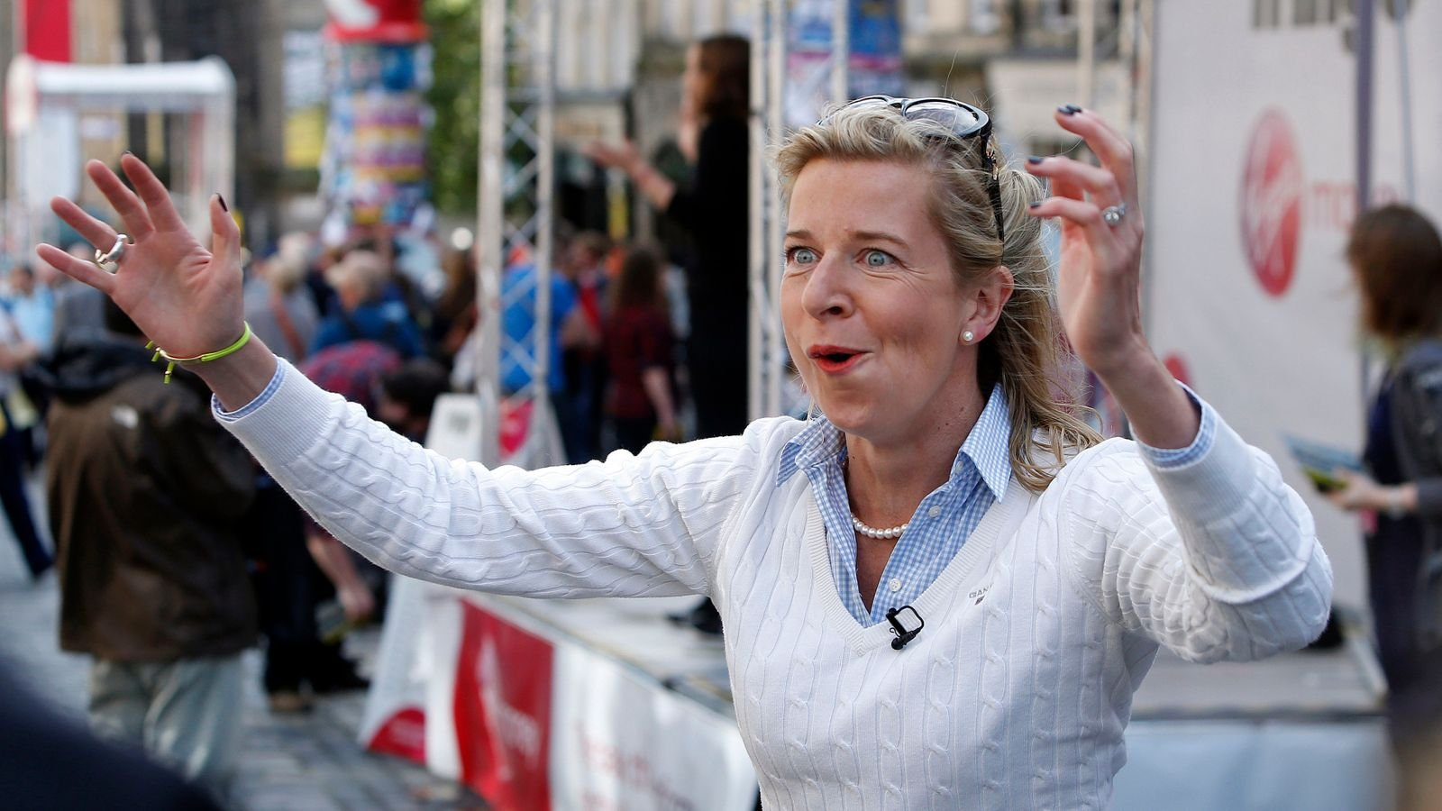 Katie Hopkins permanently banned by Twitter for breaking