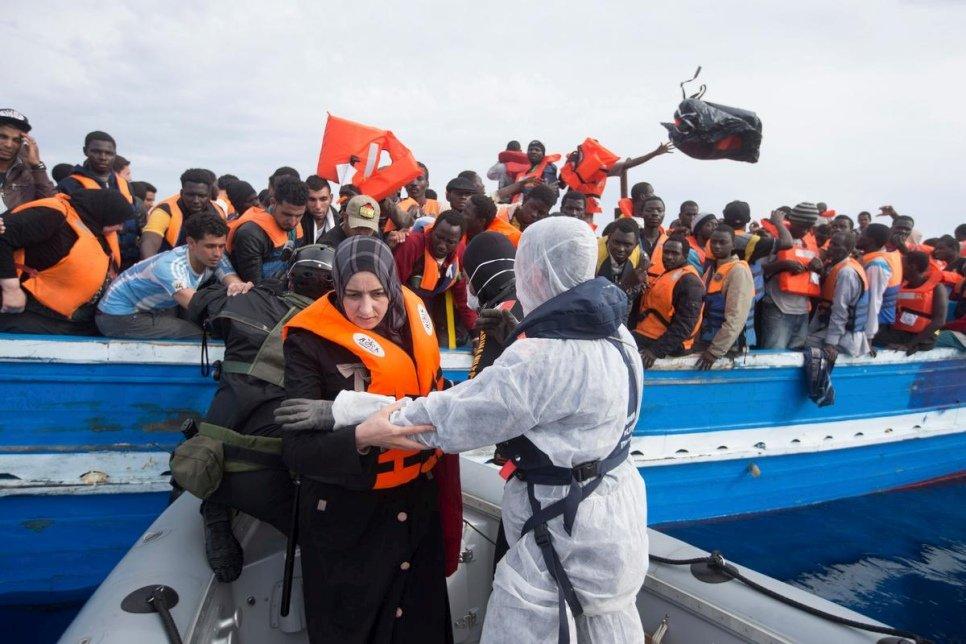 UNHCR - Mediterranean death toll soars, 2016 is deadliest year yet