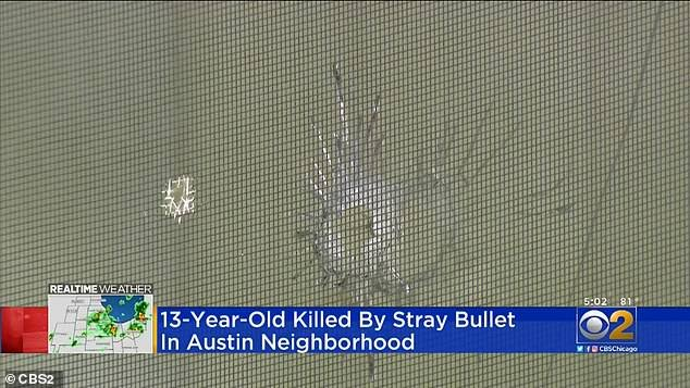 Gunfire erupted outside the Jones family home in the 1000 block of North Leclaire Avenue in the South Austin section before 9pm on Saturday