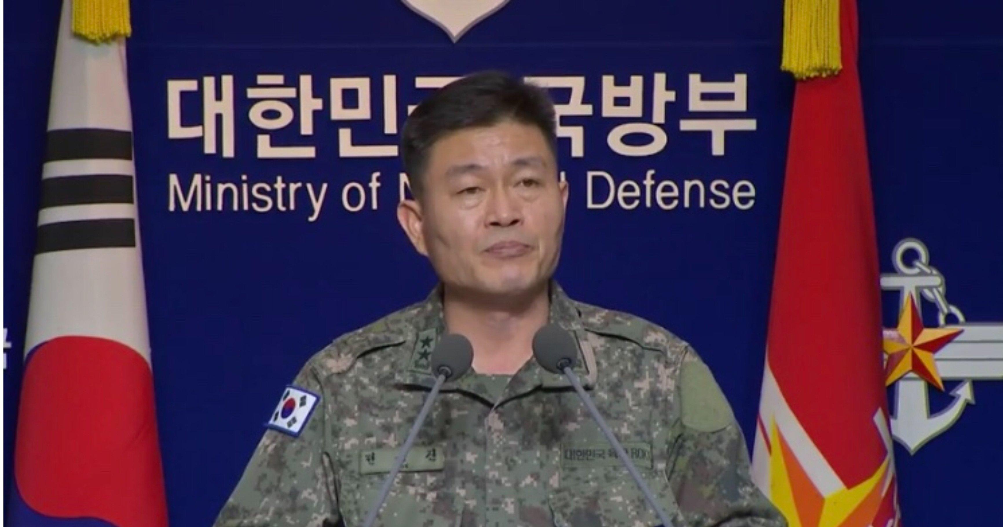"""328be6f8 9533 43f7 b5c4 9342b4d50c92.jpeg?resize=1200,630 - [속보] 합참의 강력 경고 """"북한, 군사 행동하면 반드시 대가를 치르게 될 것"""""""